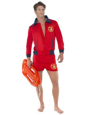 Baywatch Lifeguard Costume Men's