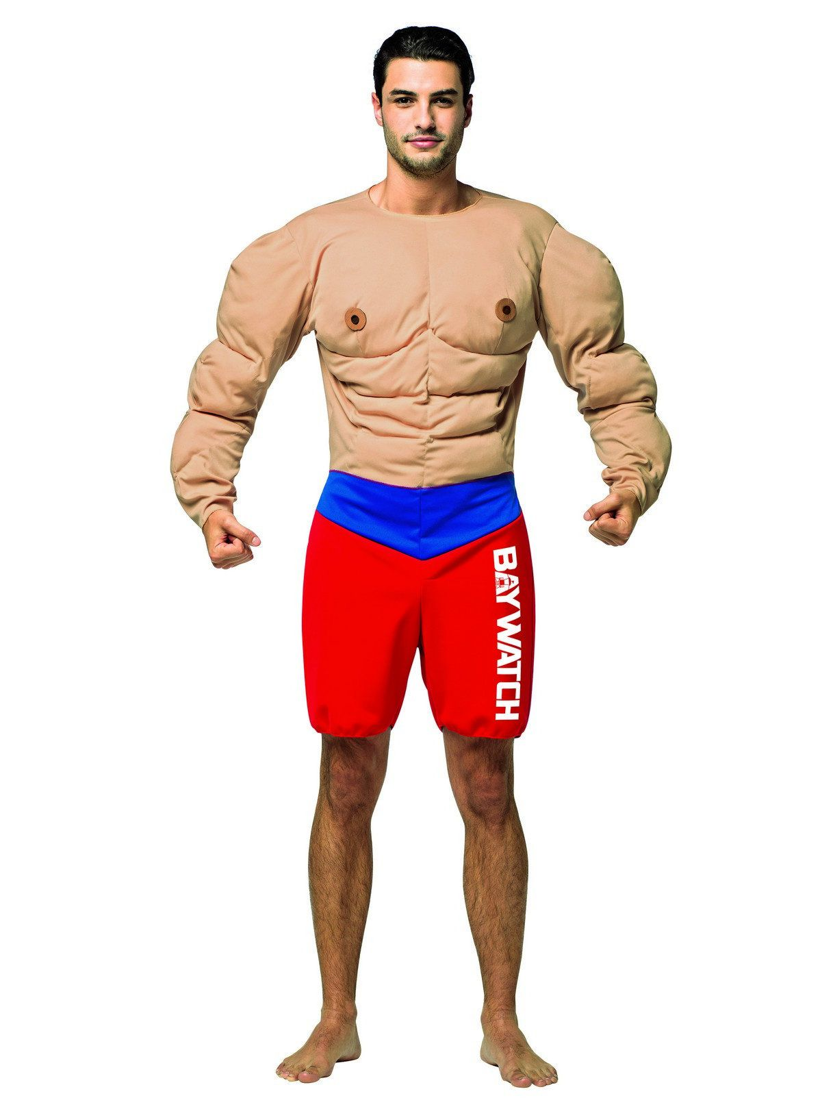 Baywatch Lifeguard Muscle Costume for Adults  sc 1 st  Wholesale Halloween Costumes & Baywatch Lifeguard Muscle Costume for Adults - Mens Costumes for ...