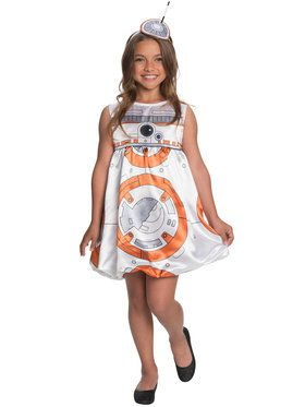 BB-8 Costume for Girls