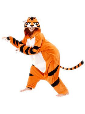 BCozy Tiger (Orange) Women's Costume