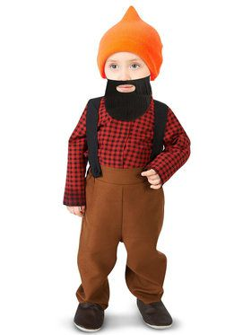 Baby Bearded Lumberjack Costume For Babies