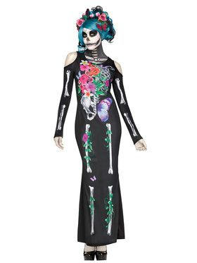 Beautiful Bones Women's Costume