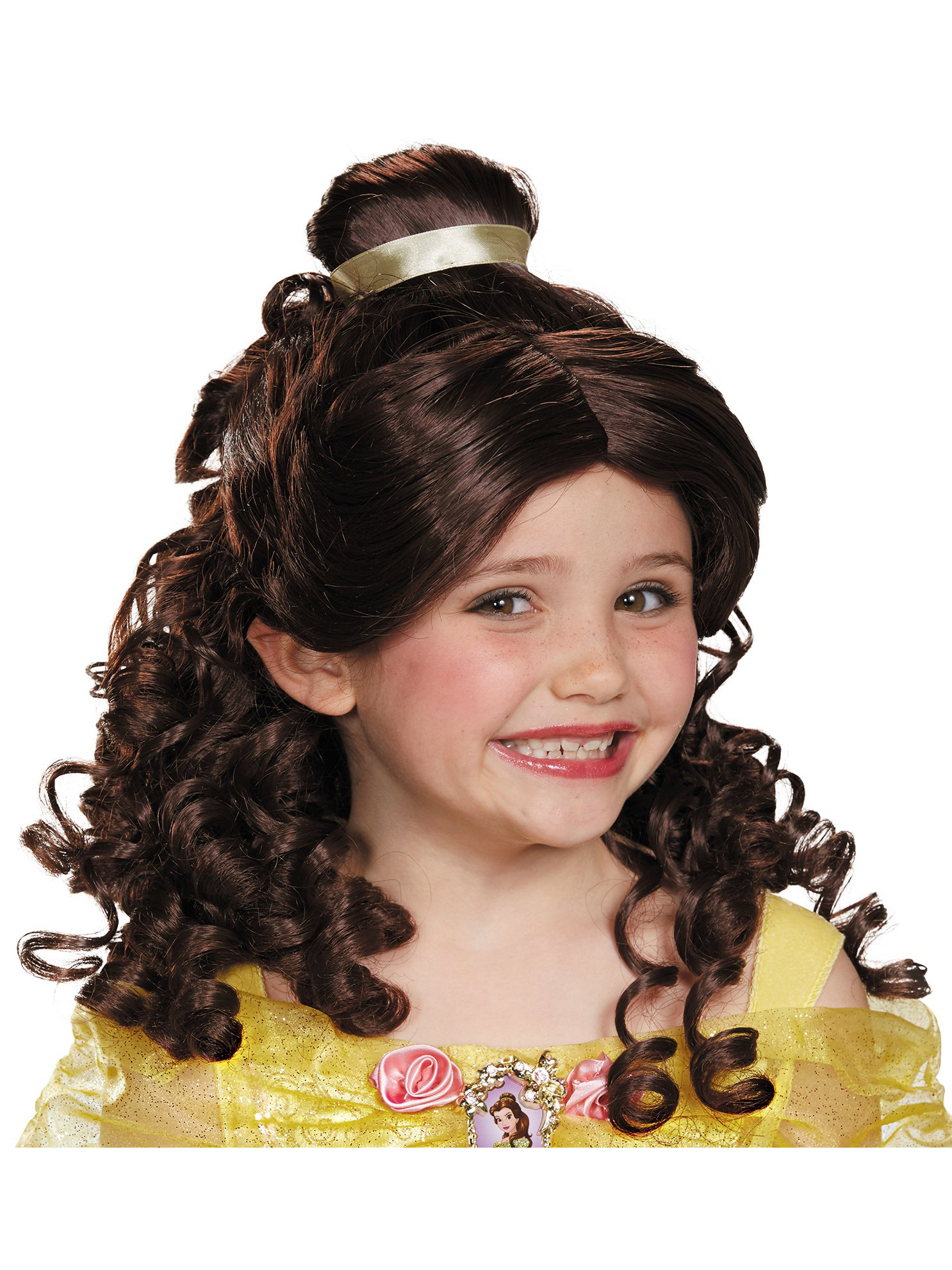 Disguise Inc Beauty And The Beast Belle Child Wig