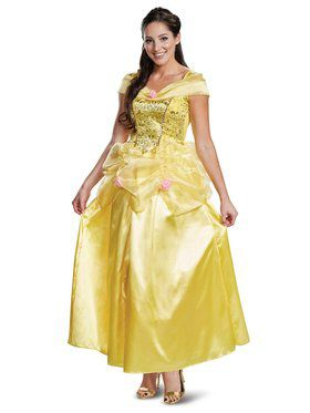Belle Deluxe Adult Beauty & the Beast Costume