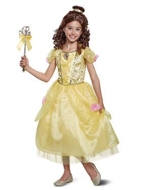 Belle Beauty & the Beast Deluxe Child Costume