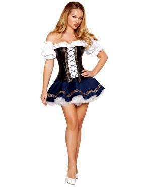 Beer Maiden Sexy Women's Costume