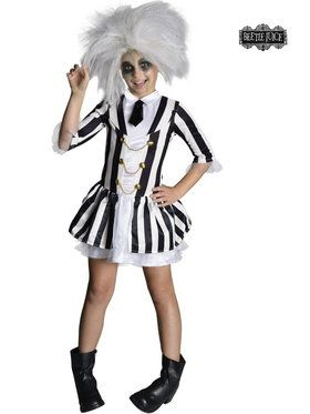 Beetlejuice Girls Girl's Costume
