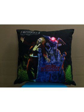 Here Lies Beetlejuice Pillow