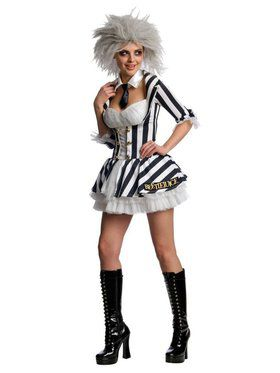 Beetlejuice Sexy Adult Costume
