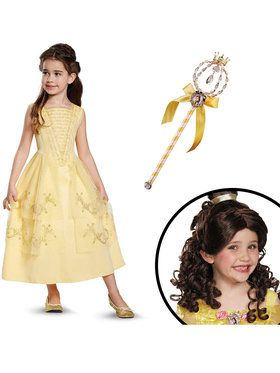 Belle Ball Gown Classic Childrens Costume Kit