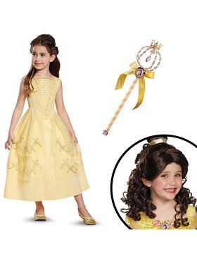 Belle Ball Gown Classic Toddler Costume for Halloween