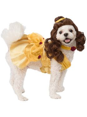 Belle Costume For Pets