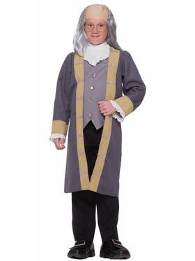Ben Franklin Child Costume