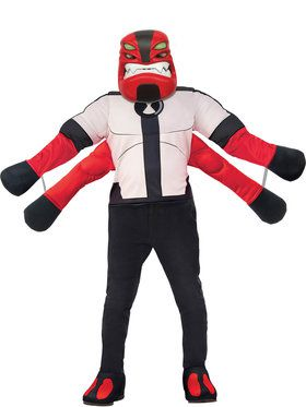 Ben10 Four Arms Deluxe Costume for Boys