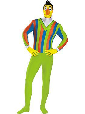Bert Bodysuit Costume Adult