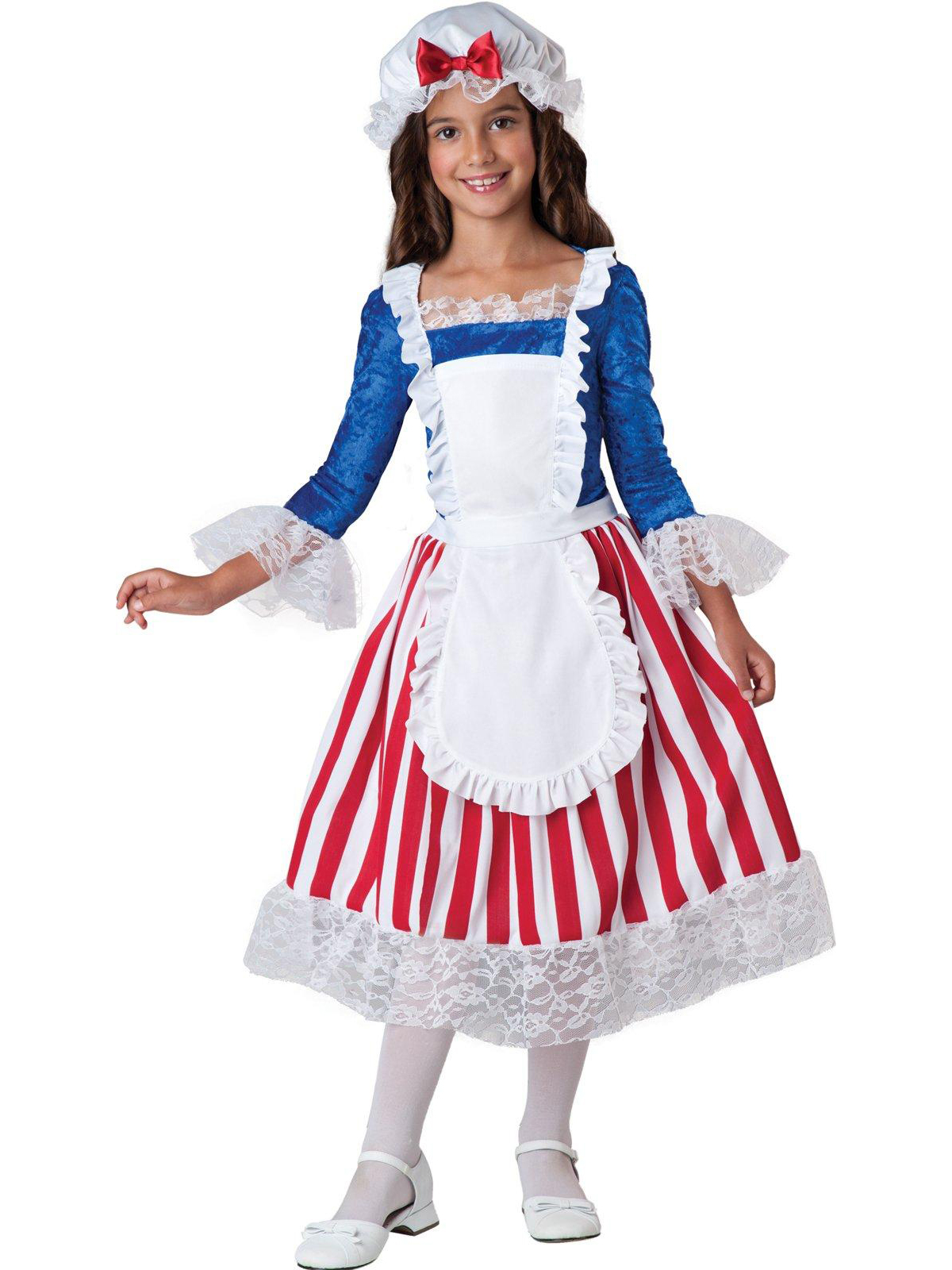 Incharacter Betsy Ross Child Costume