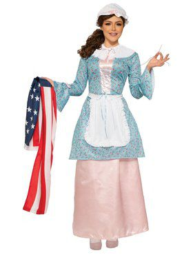 Betsy Ross - Plus Adult Costume