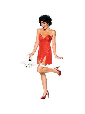 Secret Wishes Betty Boop Adult Deluxe Costume
