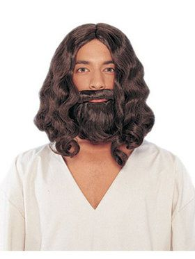Biblical Wig and Beard Adult