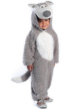 Big Bad Wolf Costume Toddler  sc 1 st  Wholesale Halloween Costumes : kids fierce werewolf costume  - Germanpascual.Com
