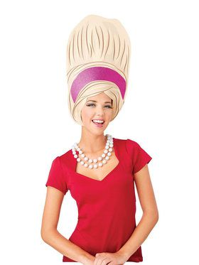 Big Beehive Adult Foam Wig