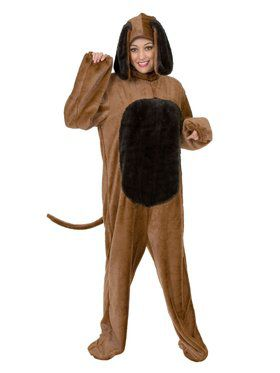 Adult's Big Dog Costume