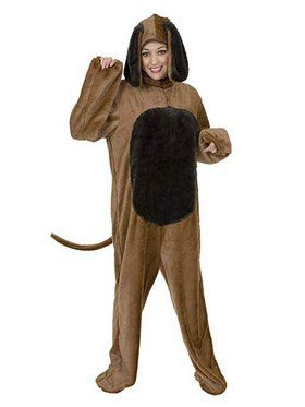 Plus Adult's Big Dog Costume