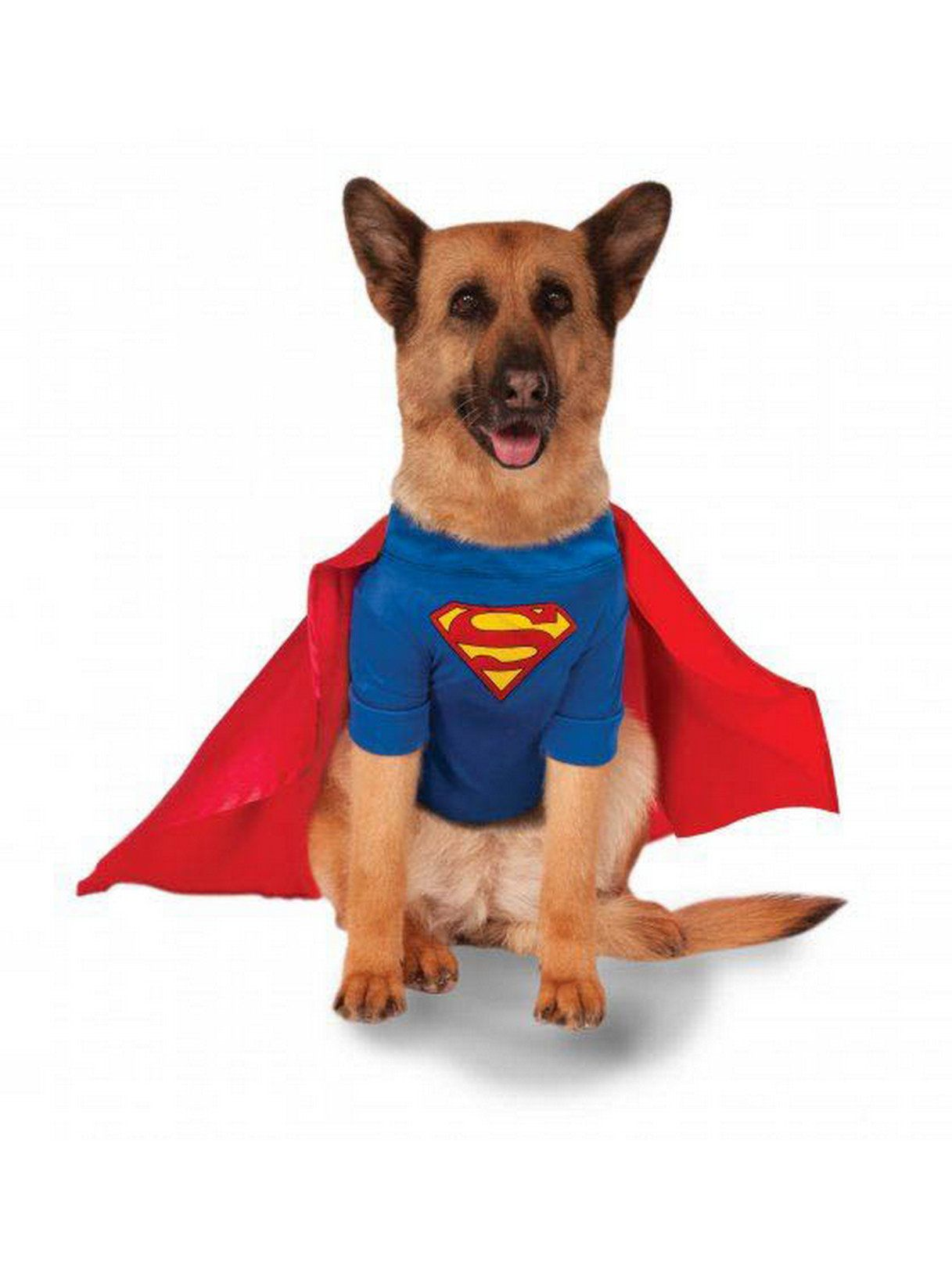 super pet collection: superman pet costume - dog and cat costumes