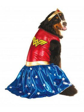 Super Pet Collection: Wonder Woman Pet Costume