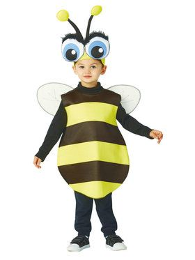 Toddler Big Eyed Bee Costume