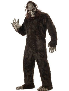 Big Foot Mens Plus Size Costume