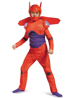 Big Hero 6: Deluxe Baymax Muscle Costume For Children