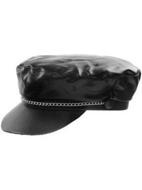 Biker Hat with Chain