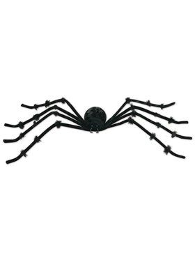 "Black 50"" Posable Spider"
