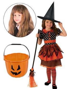 Witch Sister Character Kit Orange & Black