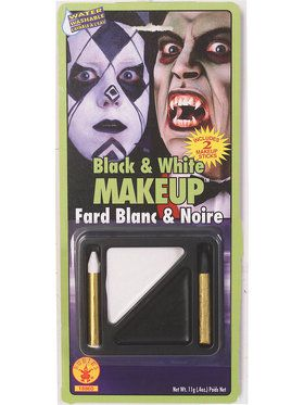 Black and White Makeup Kit for Adults