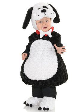 Black and White Puppy Costume Toddler