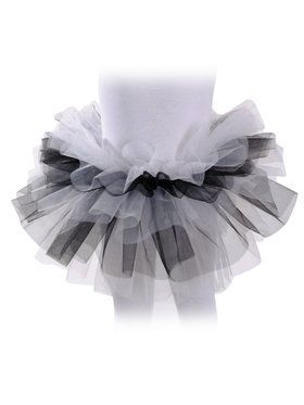 Black And White Tutu Girl's Costume