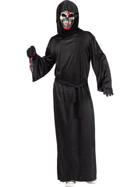 Black Bleeding Reaper Adult Costume Men's Costume