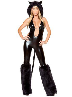Black Cat Babe Deluxe Costume
