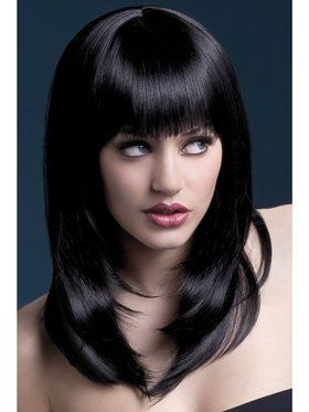 Black High Temperature Resistant Tanja Wig