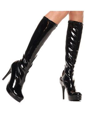 Black Knee-high Boot Adult