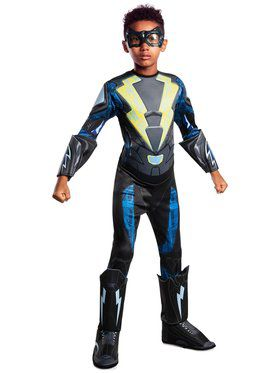 Black Lightning Deluxe Costume for Kids