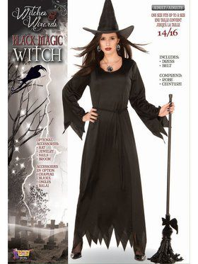 Black Magic Adult Witch Costume