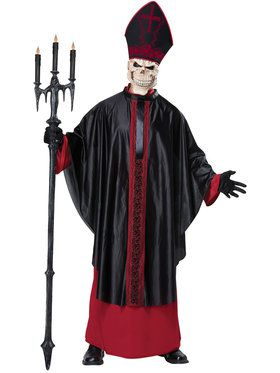 Black Mass Men's Costume