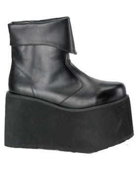Black Monster Boot Men's