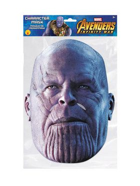 Thanos Character Mask Costume Accessory