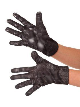 Kid's Black Panther Gloves