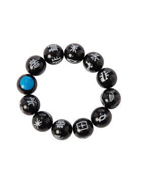 Black Panther Kimoyo Bead Bracelet Costume Accessory