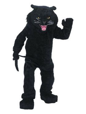 Black Panther Mascot Adult's Mascot Costume